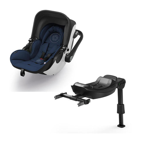 Kiddy Evoluna i-Size Car Seat + Base - Night Blue-Car Seats- Natural Baby Shower