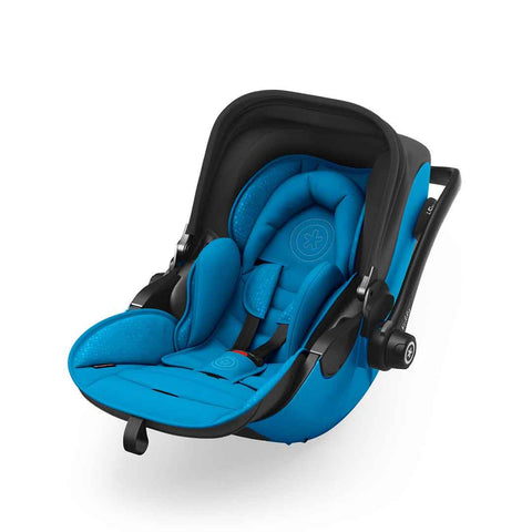 Kiddy Evoluna i-Size 2 Car Seat + Base - Summer Blue-Car Seats- Natural Baby Shower