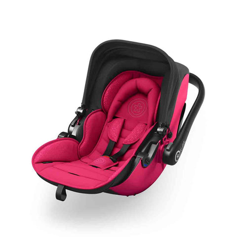 Kiddy Evolution Pro 2 Car Seat - Berry Pink-Car Seats- Natural Baby Shower