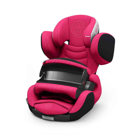 Kiddy Phoenixfix 3 Car Seat - Berry Pink-Car Seats- Natural Baby Shower