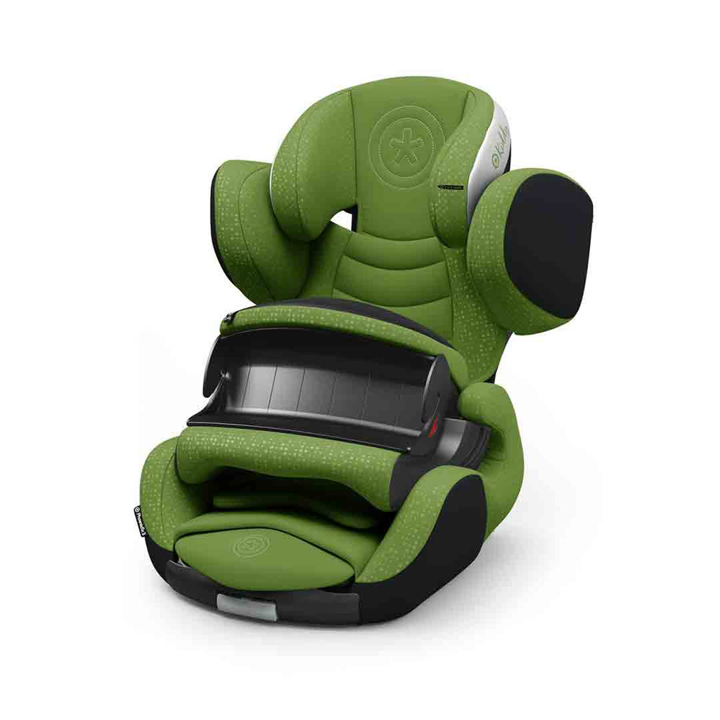 Kiddy Phoenixfix 3 Car Seat - Cactus Green-Car Seats- Natural Baby Shower