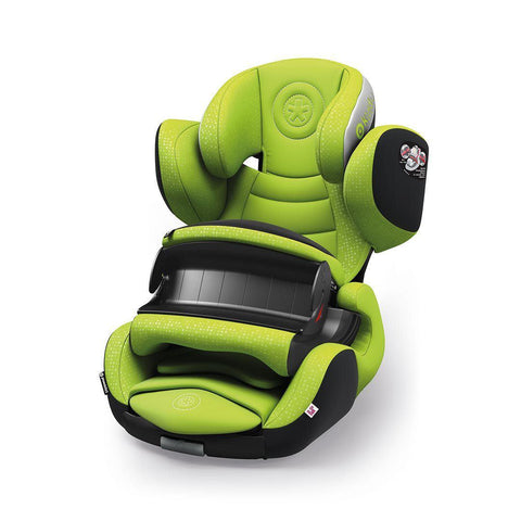 Kiddy Phoenixfix 3 Car Seat - Lime Green - Ex-Display-Car Seats- Natural Baby Shower