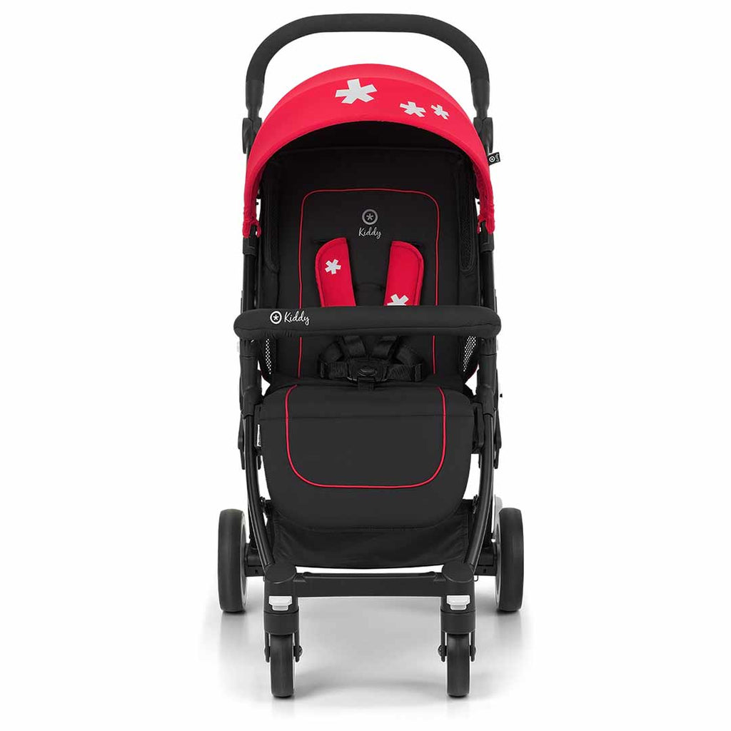 Kiddy Urban Star 1 Pushchair - Chilli Red 2