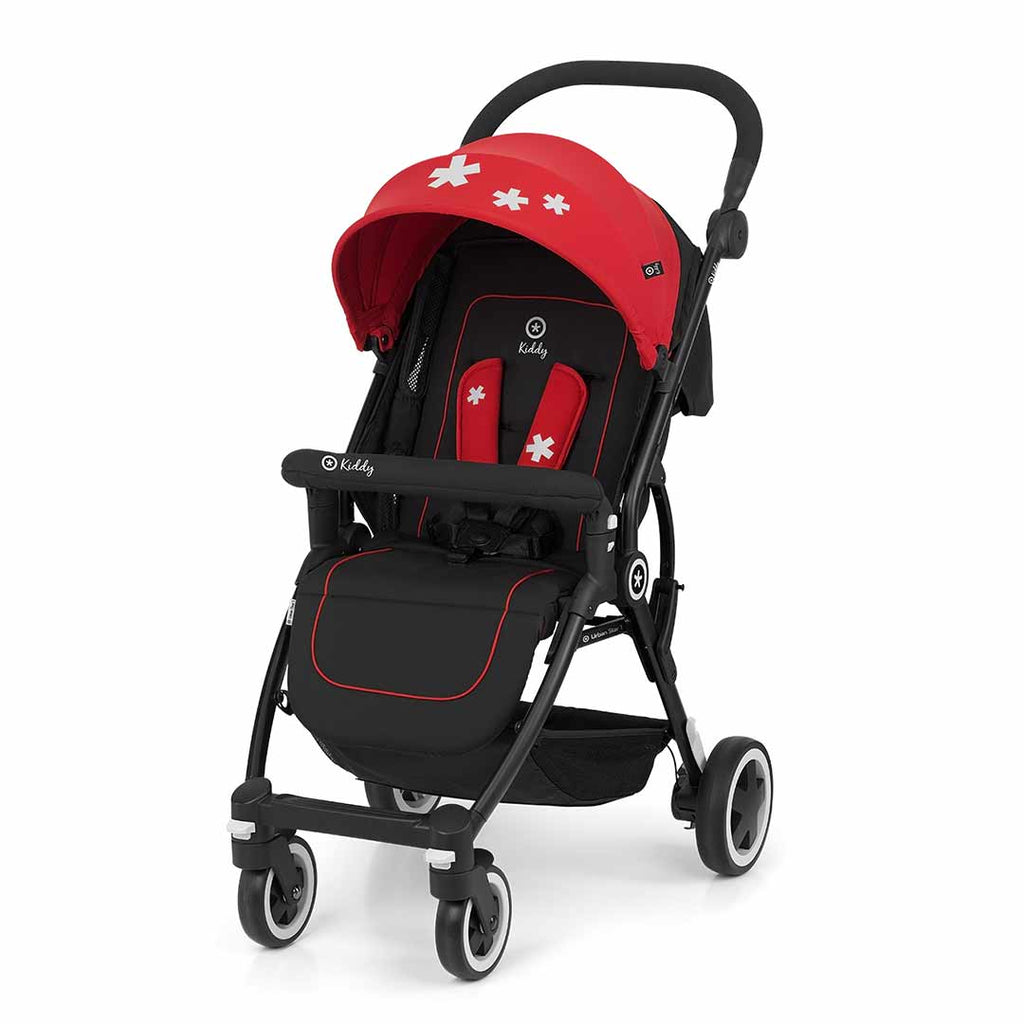 Kiddy Urban Star 1 Pushchair - Chilli Red