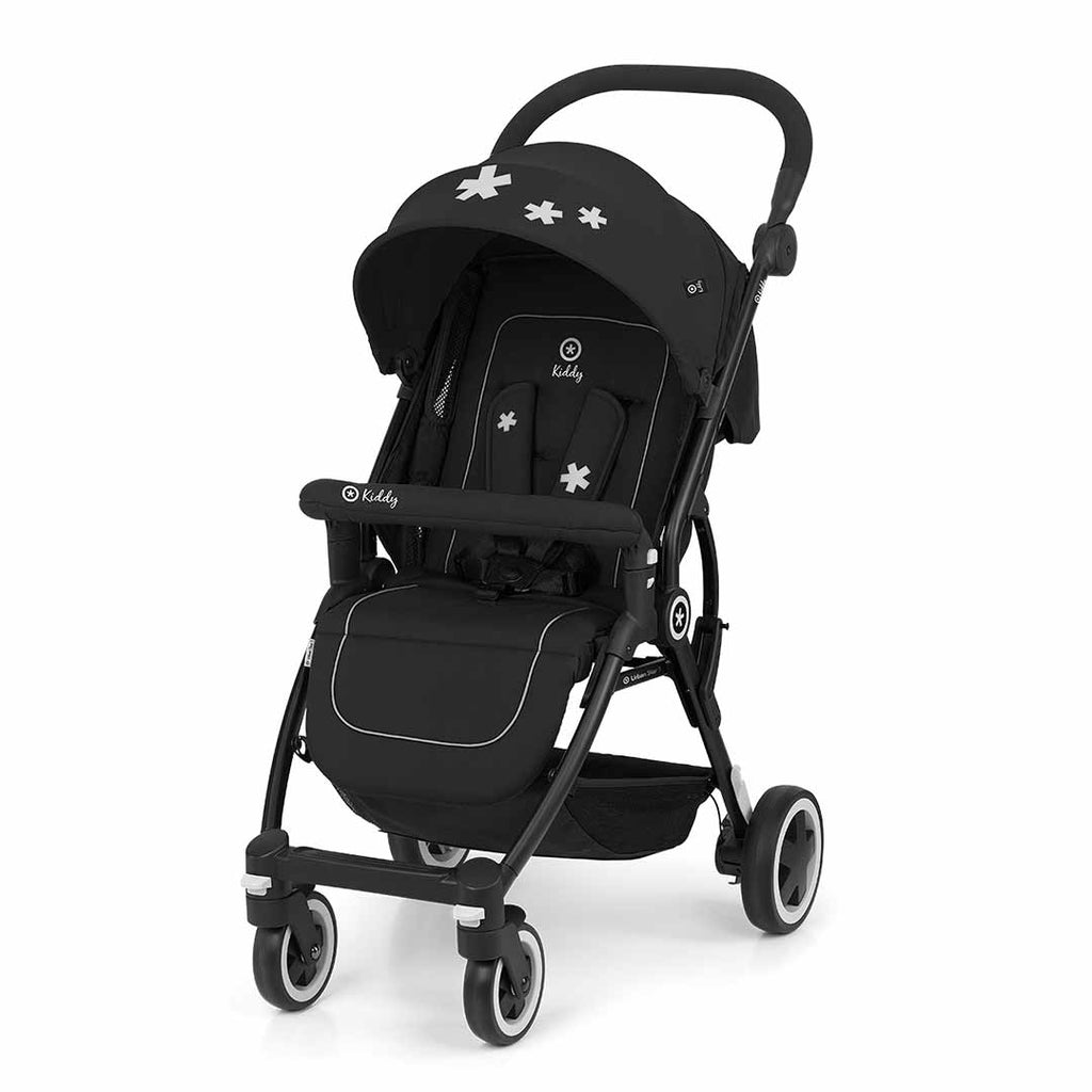 Kiddy Urban Star 1 Pushchair - Mystic Black-Strollers- Natural Baby Shower