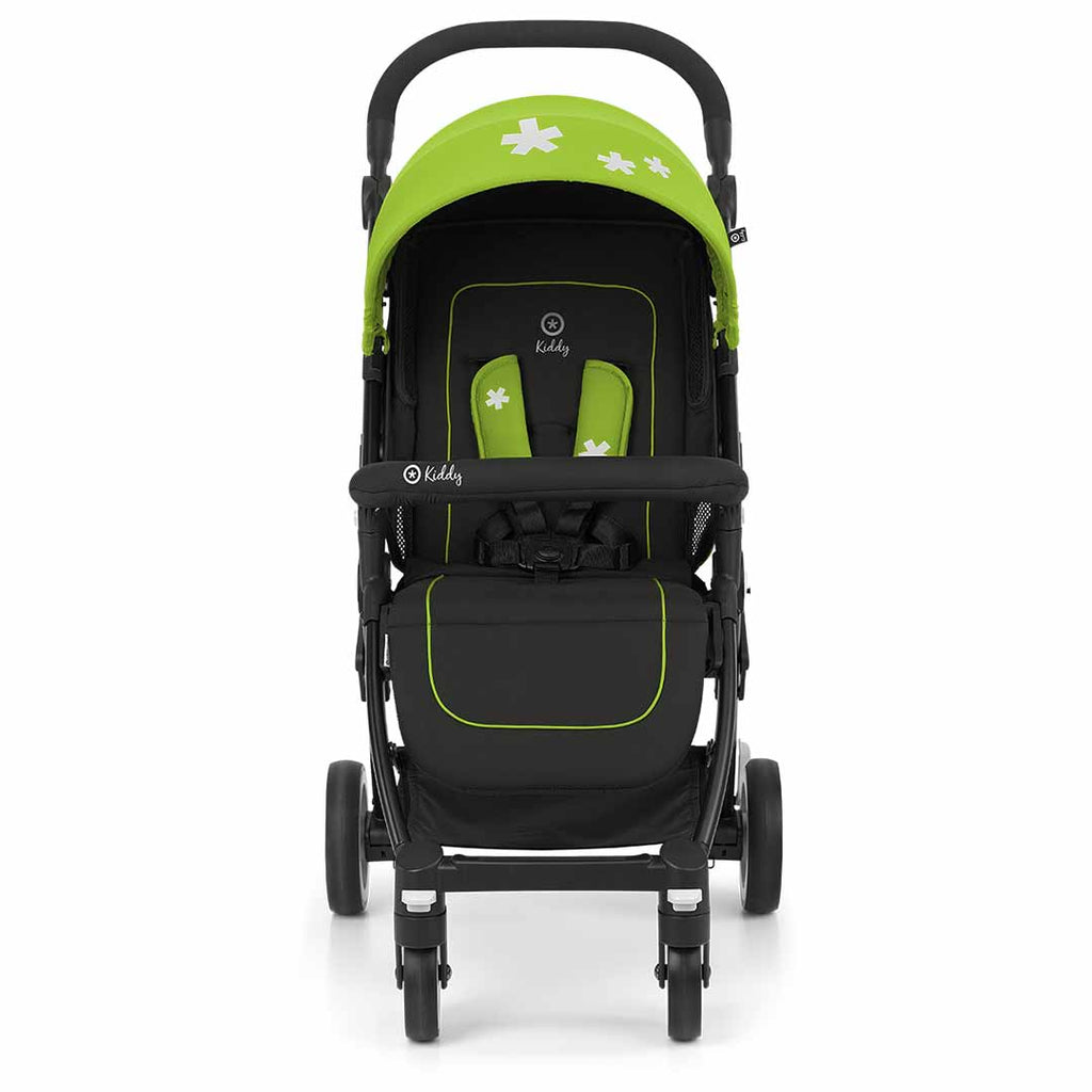 Kiddy Urban Star 1 Pushchair - Spring Green-Strollers- Natural Baby Shower