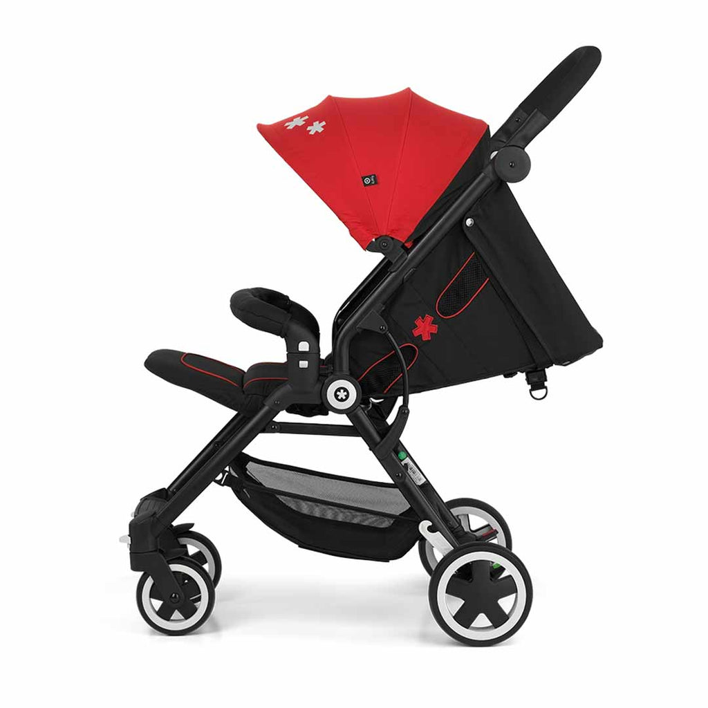 Kiddy Urban Star 1 Pushchair - Chilli Red 3