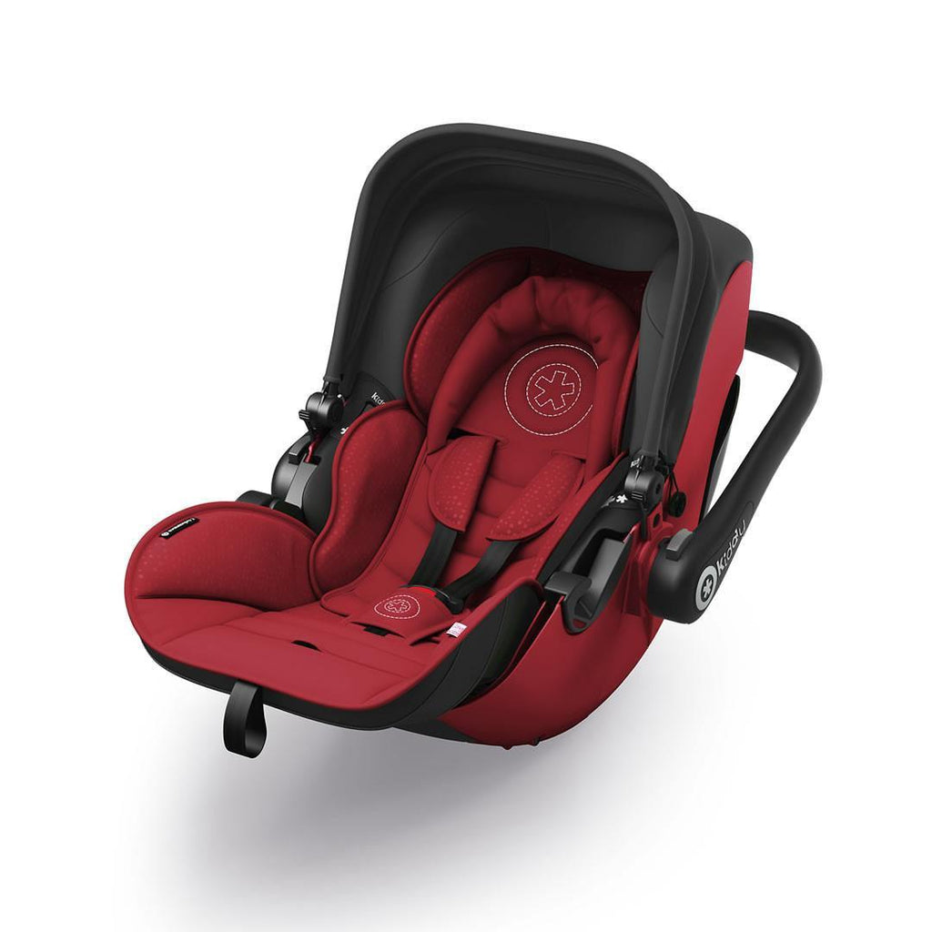 Kiddy Evolution Pro 2 Car Seat in Ruby Red