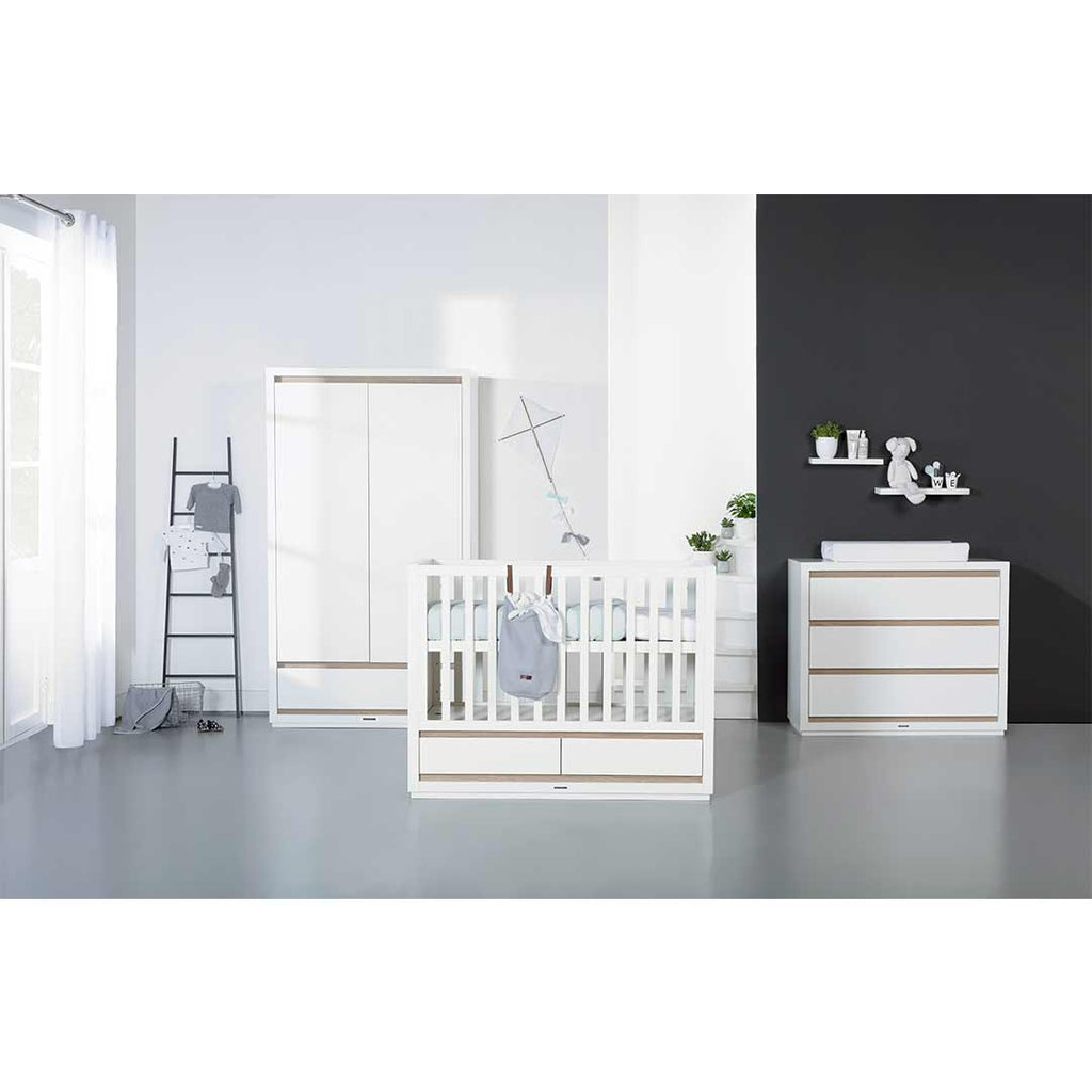 Kidsmill Accent 3 Drawer Chest-Dressers & Chests- Natural Baby Shower