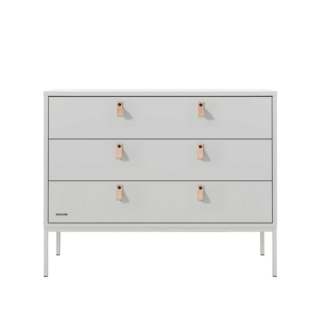 Kidsmill Amy 3 Drawer Chest (115cm)-Dressers & Chests- Natural Baby Shower