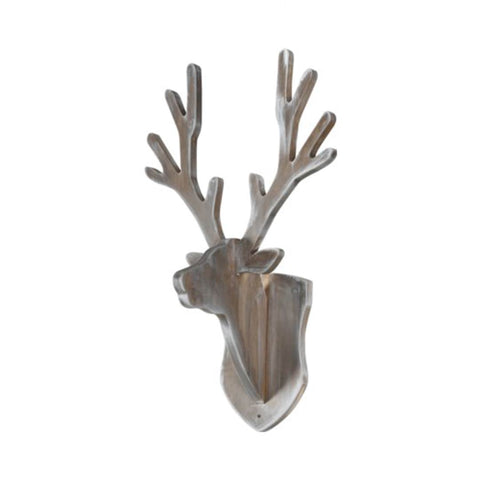 Kidsmill Coat Rack Deer - Grey Wash-Nursery Accessories- Natural Baby Shower