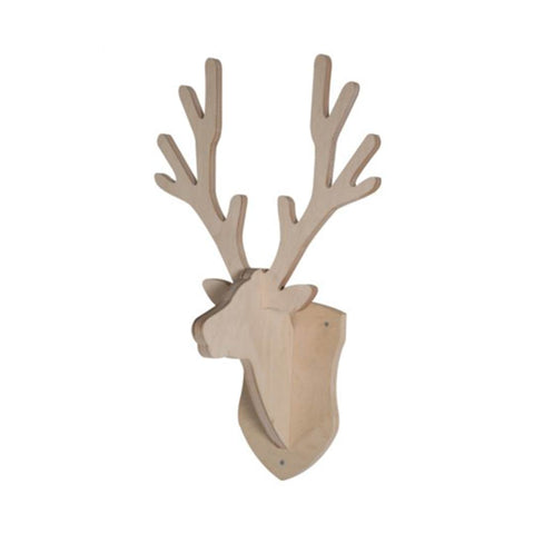 Kidsmill Coat Rack Deer - Nature-Nursery Accessories- Natural Baby Shower