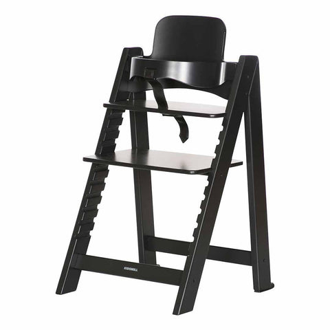 Kidsmill Highchair Up! + Bouncer - Black-High Chairs- Natural Baby Shower