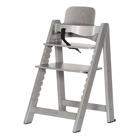 Kidsmill Highchair Up! + Bouncer - Grey Wash-High Chairs- Natural Baby Shower