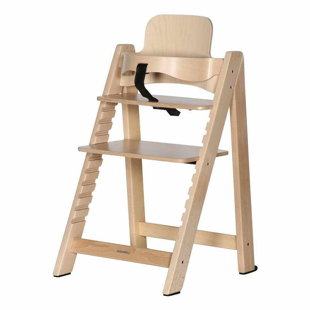 Kidsmill Highchair Up! + Bouncer Bundle in Natural