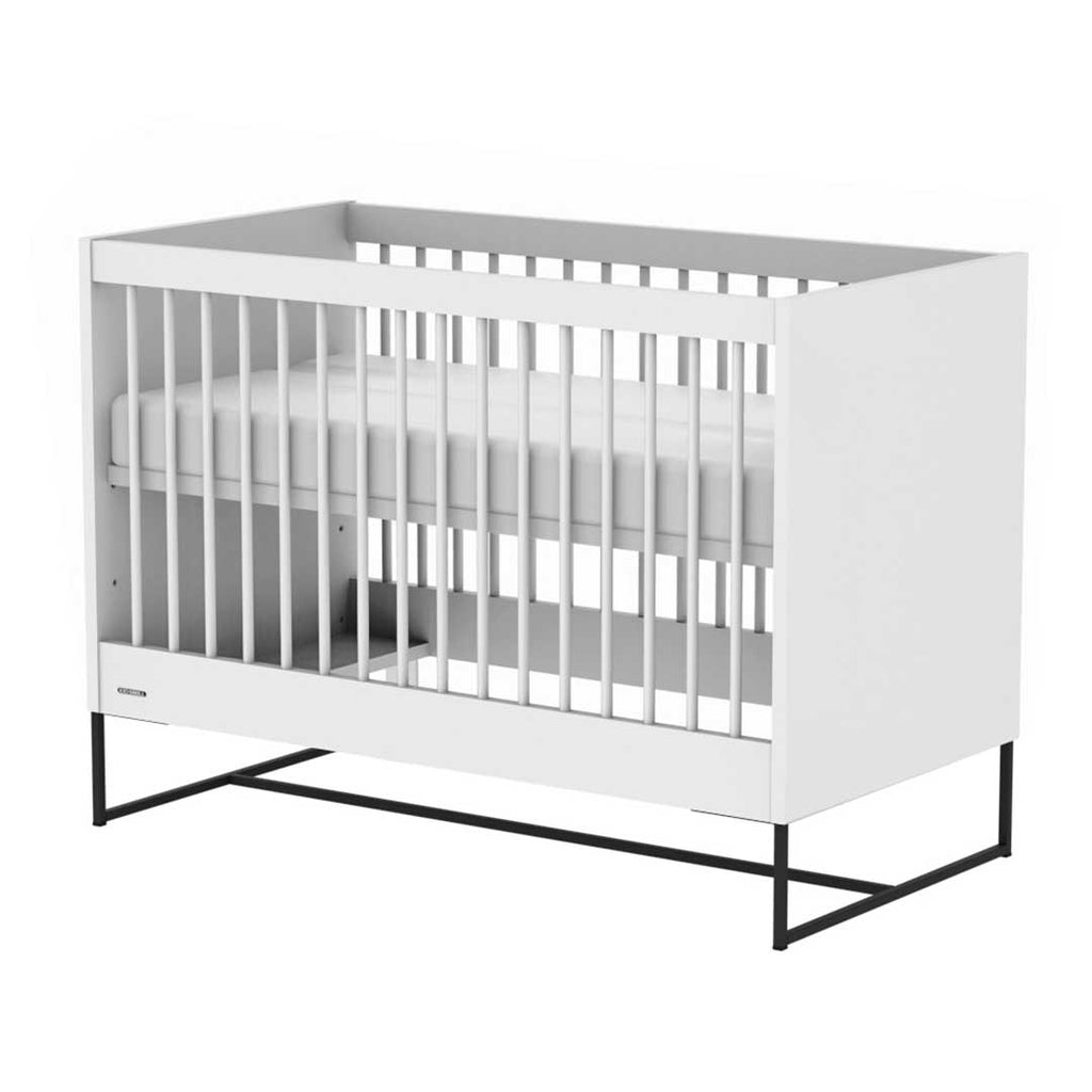 Kidsmill Intense Cot 60 x 120 - White & Black