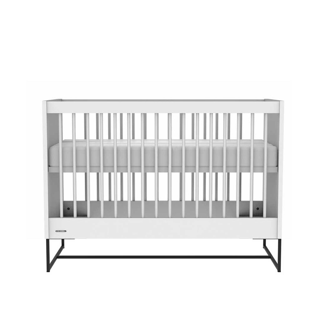 Kidsmill Intense Cot 60 x 120 - White & Black-Cot Beds- Natural Baby Shower