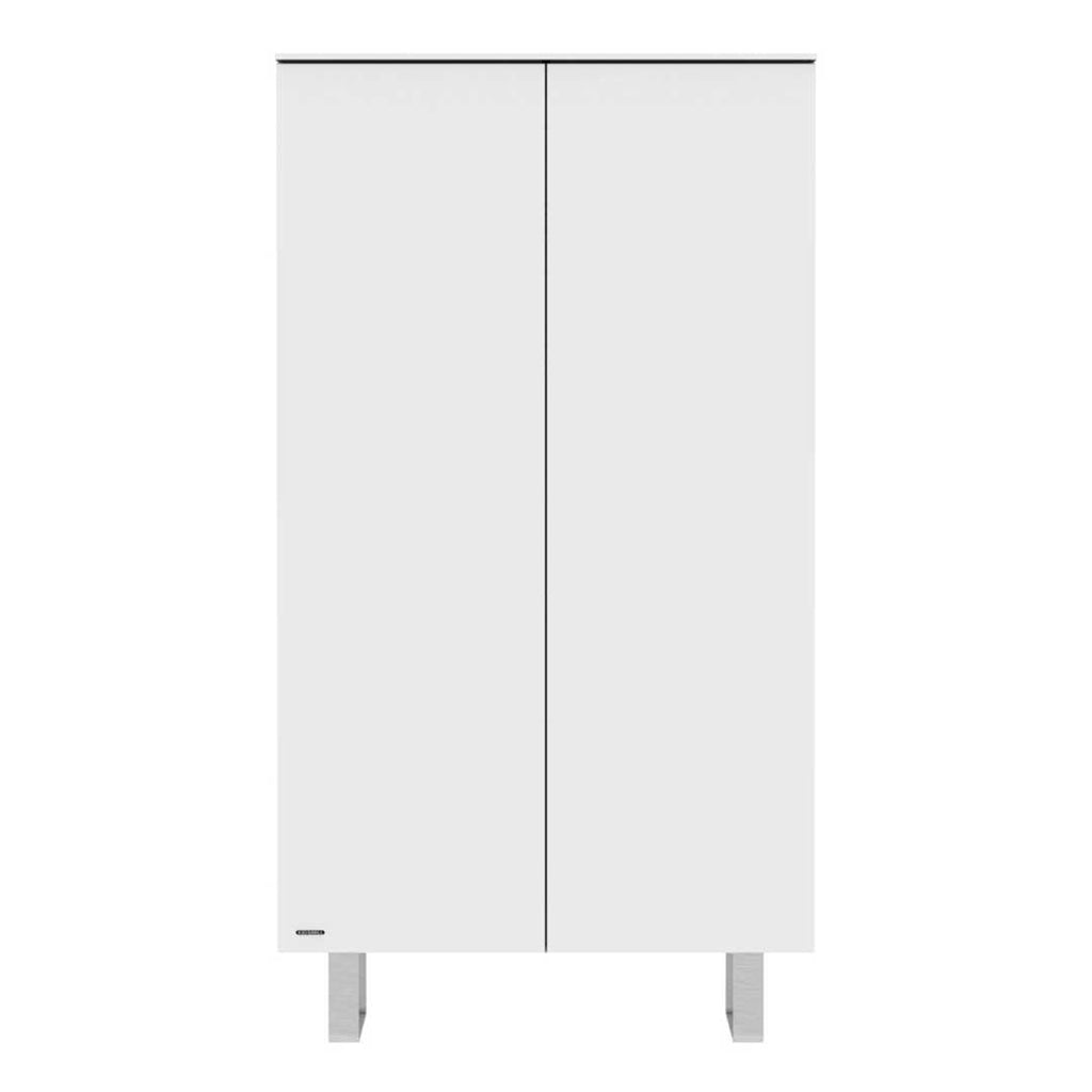 kidsmill intense wardrobe white stainless steel 2 doors - White Wardrobe