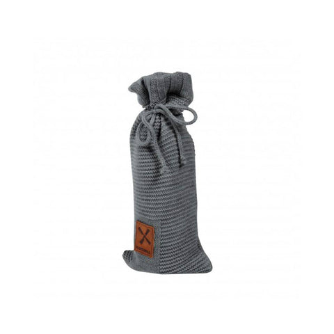 Kidsmill Knitted Bottle Cover in Anthracite