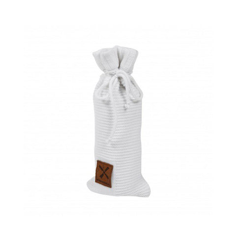 Kidsmill Knitted Bottle Cover in White
