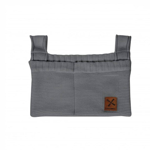 Kidsmill Knitted Decoration Bag in Anthracite