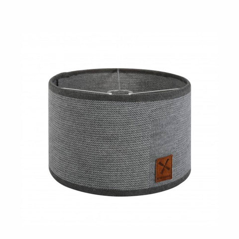 Kidsmill Knitted Lampshade in Anthracite