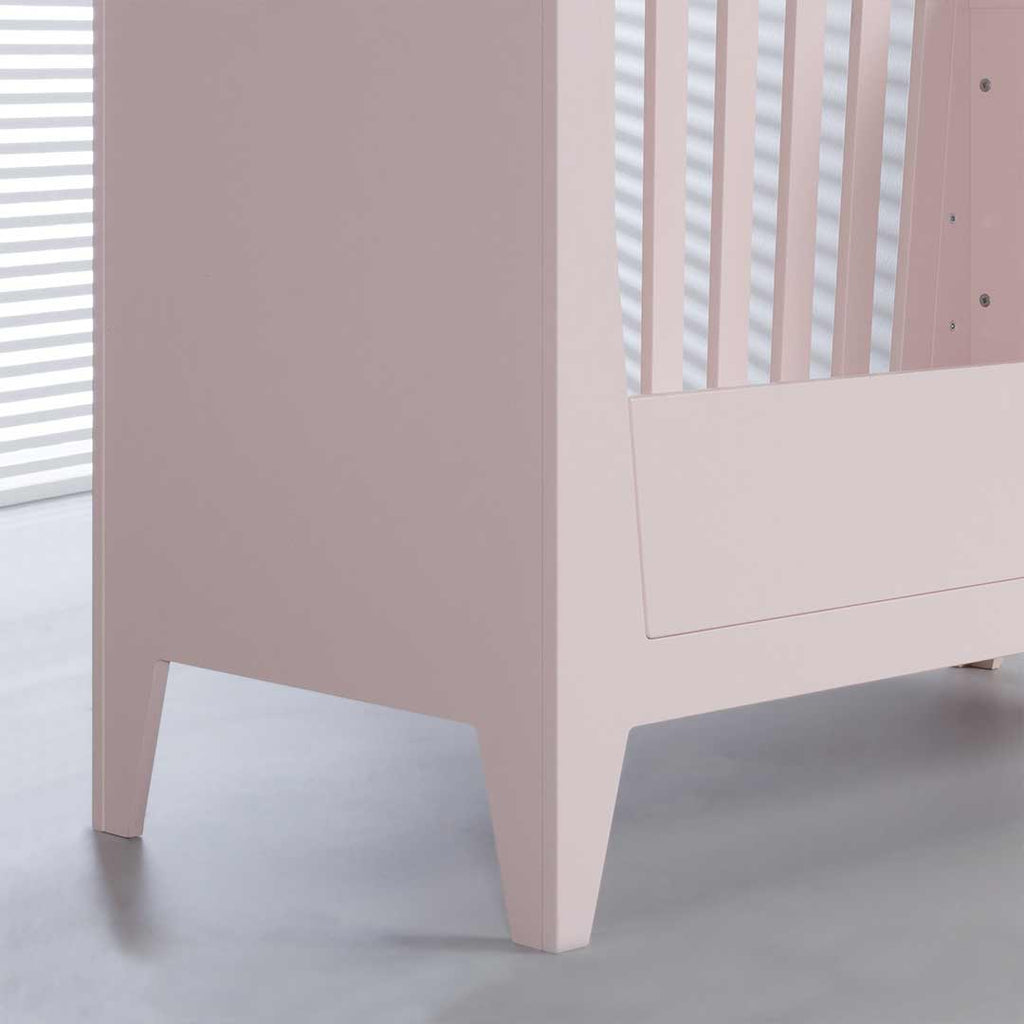 Kidsmill Nikki Cot Bed 70 x 140 - Pink-Cot Beds- Natural Baby Shower