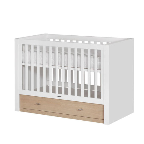 Kidsmill Diamond II Oak Cot Bed