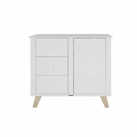 Kidsmill Fynn Chest White & Natural