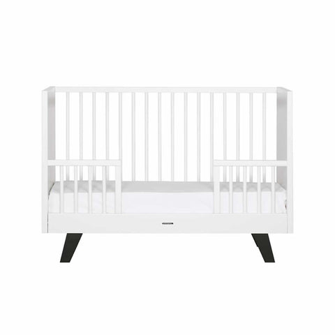 Kidsmill Fynn Cot Bed - 70 x 140 White & Black