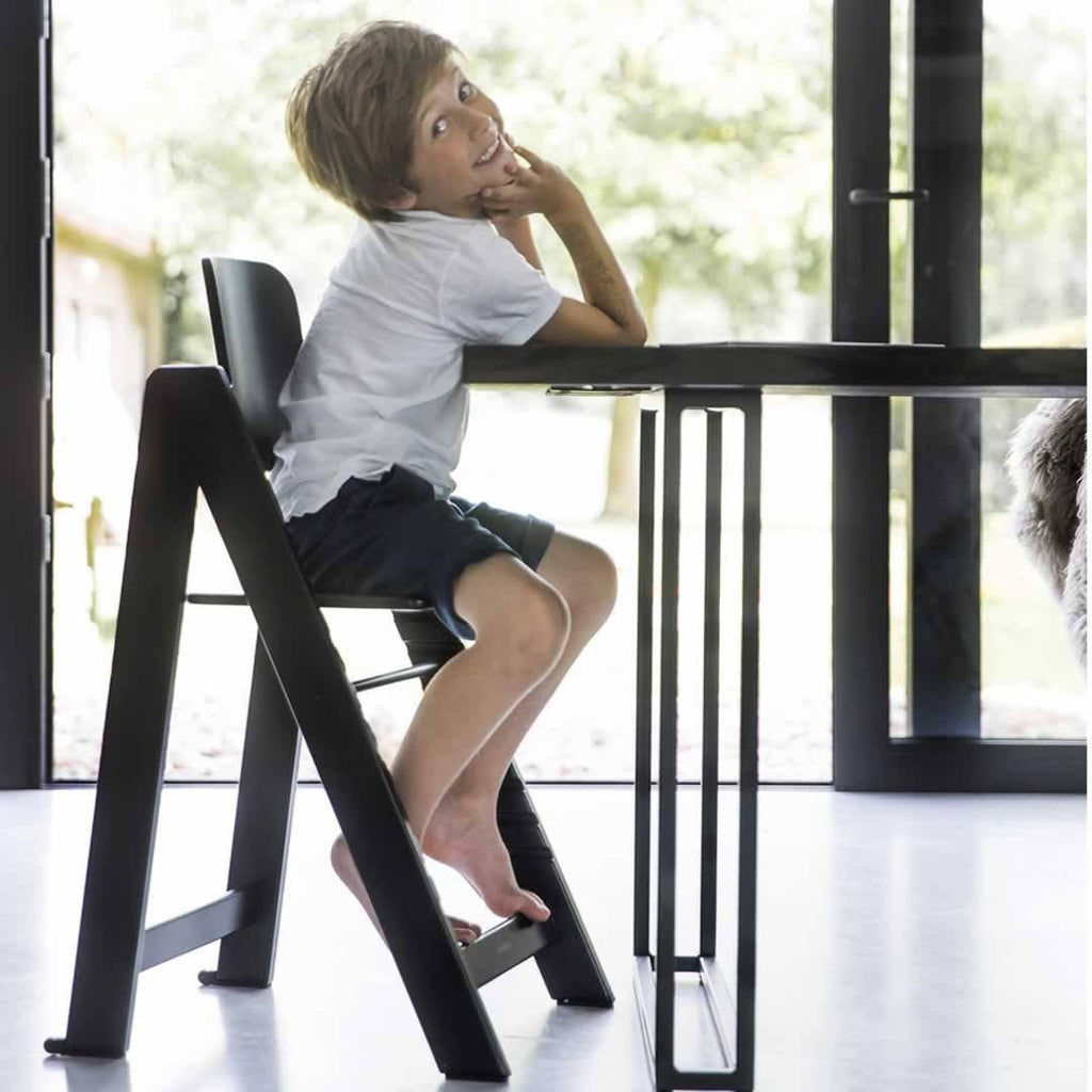 Kidsmill Highchair Up! - Black-High Chairs- Natural Baby Shower