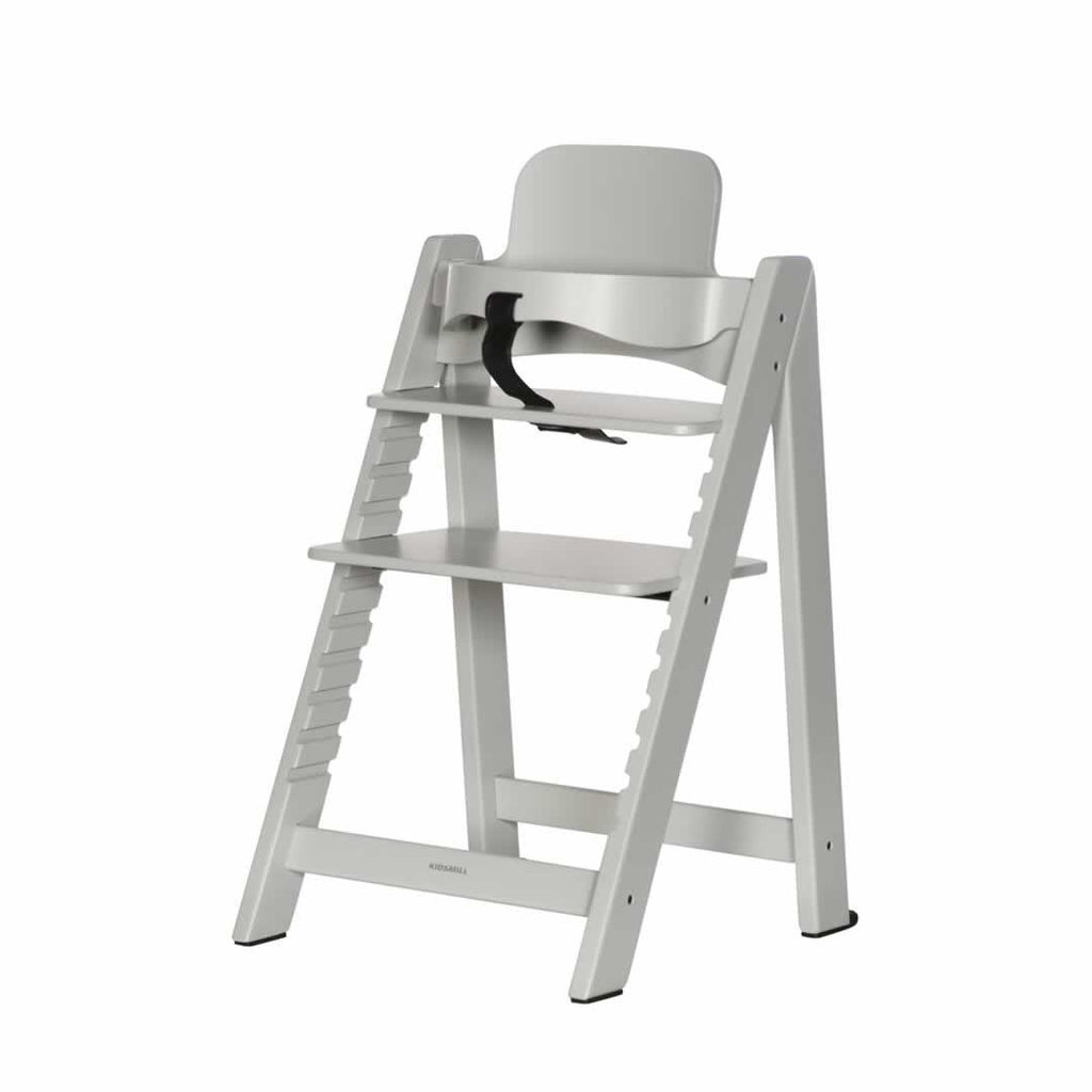 Kidsmill Highchair Up! - Solid Grey-High Chairs- Natural Baby Shower