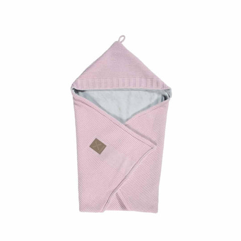 Kidsmill Knitted Bathcape in Pink