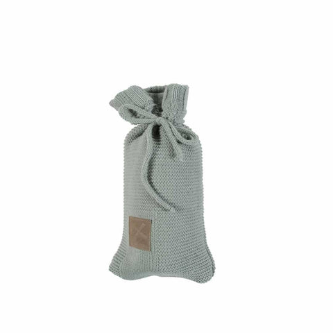 Kidsmill Knitted Bottle Cover in Stone Green