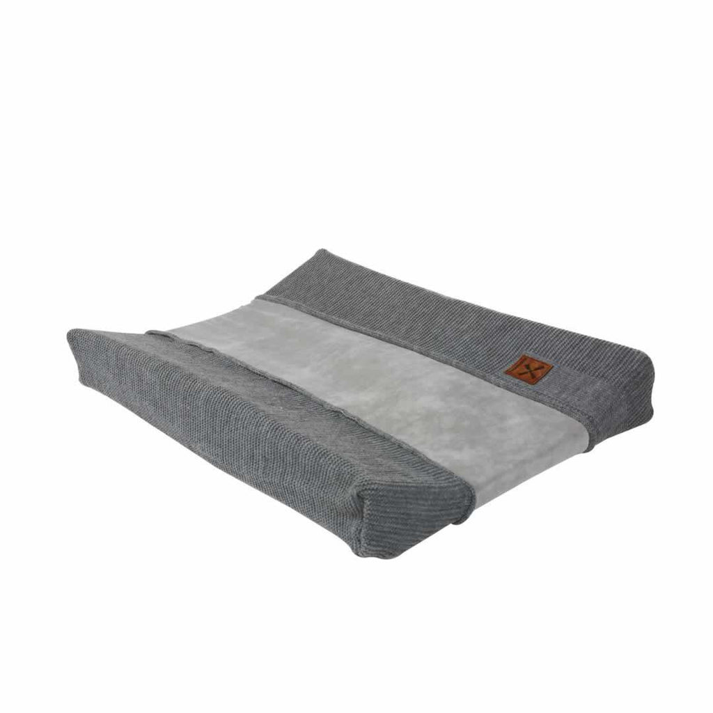 Kidsmill Knitted Changing Mat Cover 45 x 65 in Anthracite