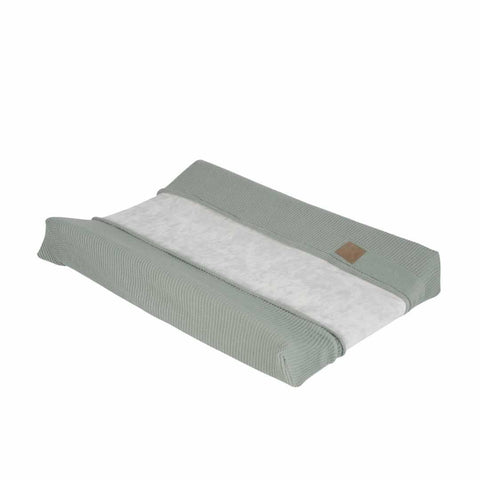 Kidsmill Knitted Changing Mat Cover 45 x 65 in Stone Green