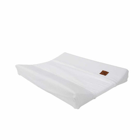 Kidsmill Knitted Changing Mat Cover 45 x 65 in White