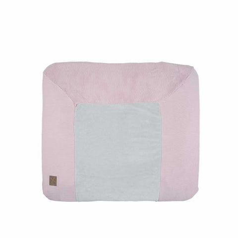 Kidsmill Knitted Changing Mat Cover 80 x 65 in Pink
