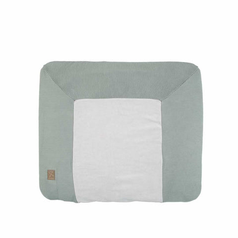 Kidsmill Knitted Changing Mat Cover 80 x 65 in Stone Green