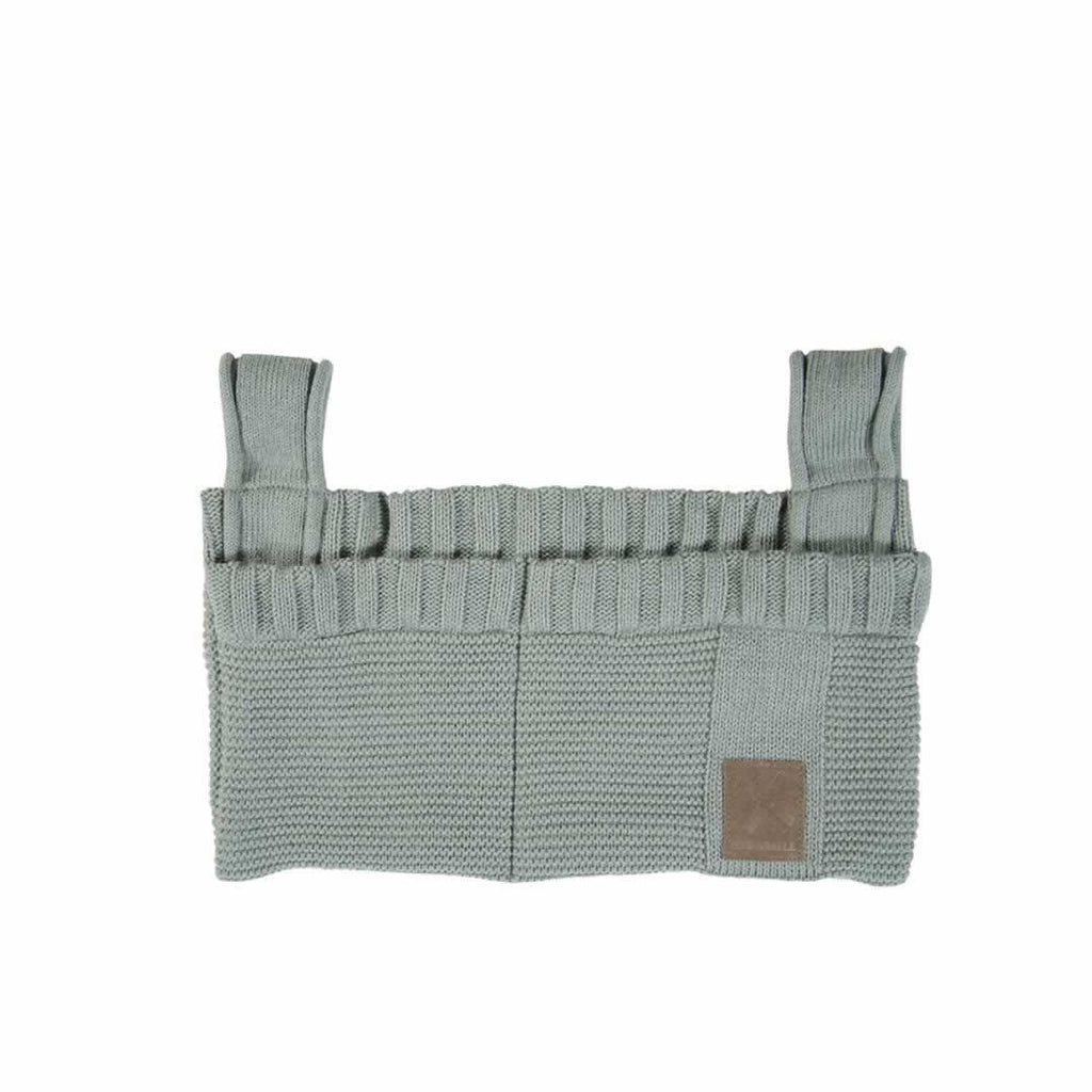 Kidsmill Knitted Decoration Bag in Stone Green