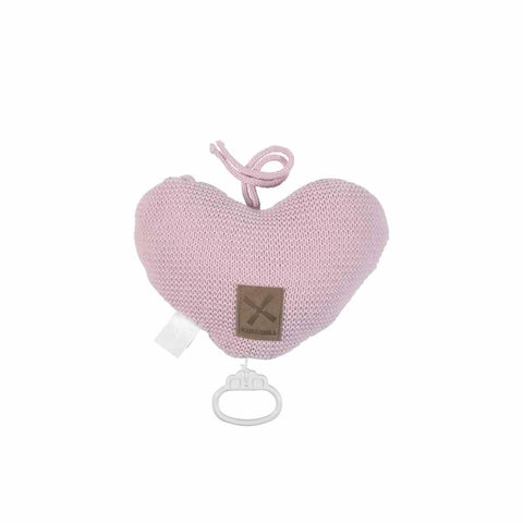 Kidsmill Knitted Music Box - Pink-Baby Mobiles- Natural Baby Shower