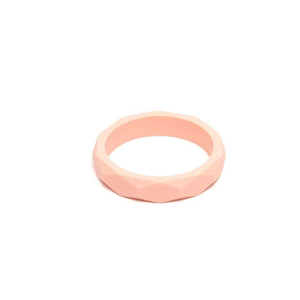 Lara & Ollie Teething Bangle - Blush-Jewellery-Blush- Natural Baby Shower