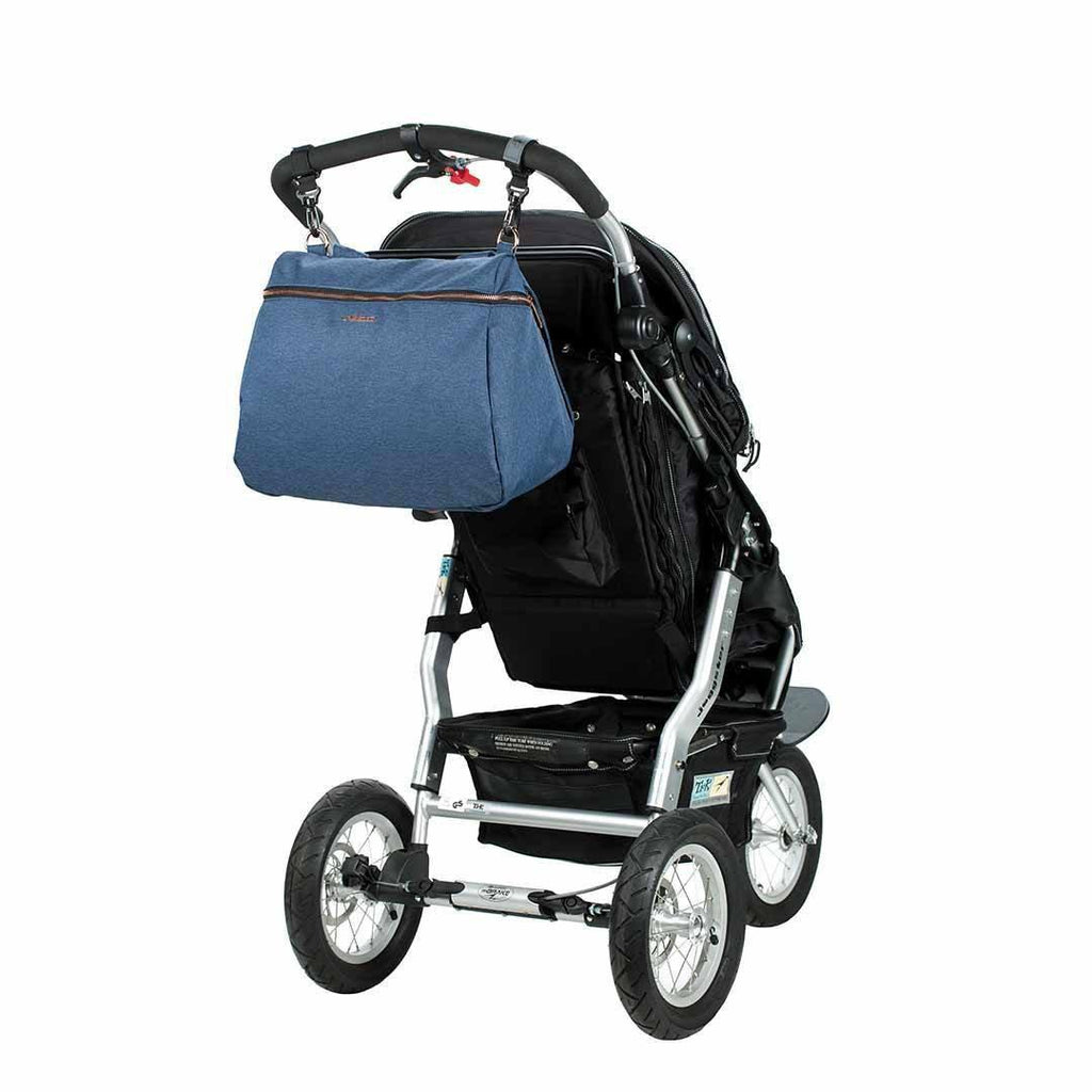 Lassig Glam Rosie Changing Bag - Blue Pushchair