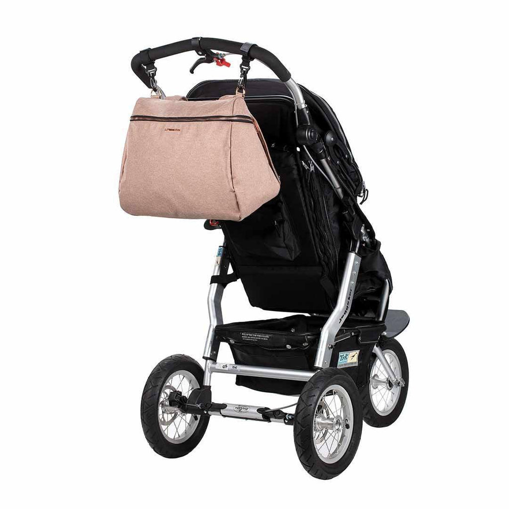 Lassig Glam Rosie Changing Bag - Rose Pushchair