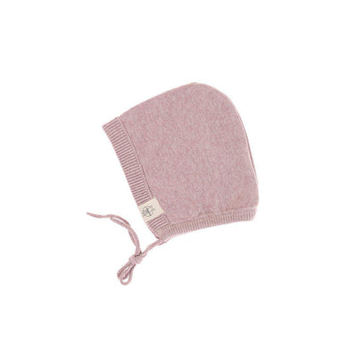 Lassig Knitted Cap - Light Pink-Hats- Natural Baby Shower