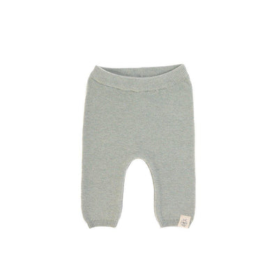 Lassig Knitted Pants - Aqua Grey-Pants- Natural Baby Shower
