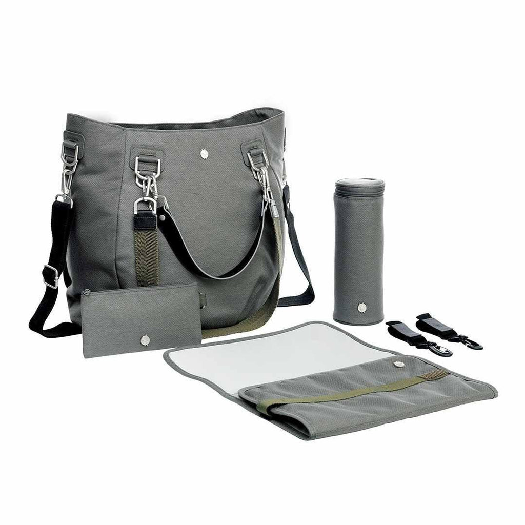 Lassig Mix 'n Match Changing Bag - Anthracite Accessories