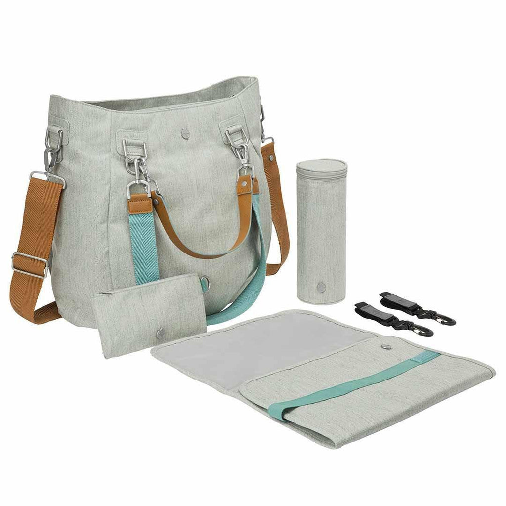 Lassig Mix 'n Match Changing Bag - Light Grey Accessories