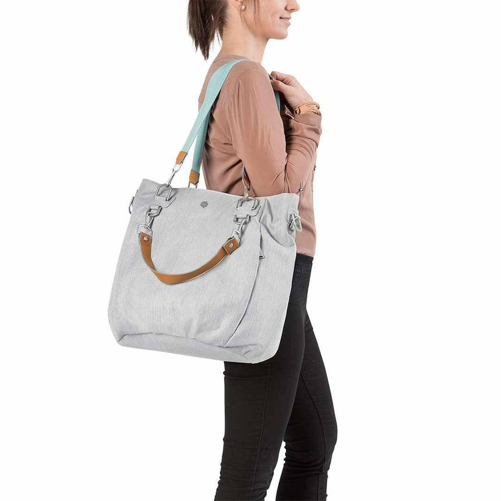 Lassig Mix 'n Match Changing Bag - Light Grey Lifestyle