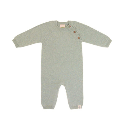 Lassig Overalls - Garden Explorer - Aqua Grey-Rompers- Natural Baby Shower